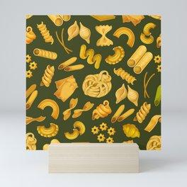 Pasta Pattern  Mini Art Print