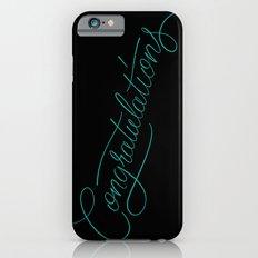 Congratulations iPhone 6s Slim Case