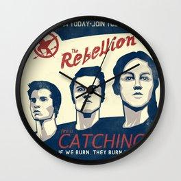 The Rebellion - Propaganda Wall Clock