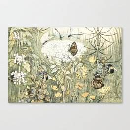 Eco warrior Canvas Print