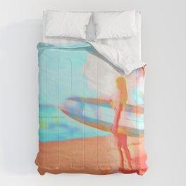 Surfer Girl Comforters