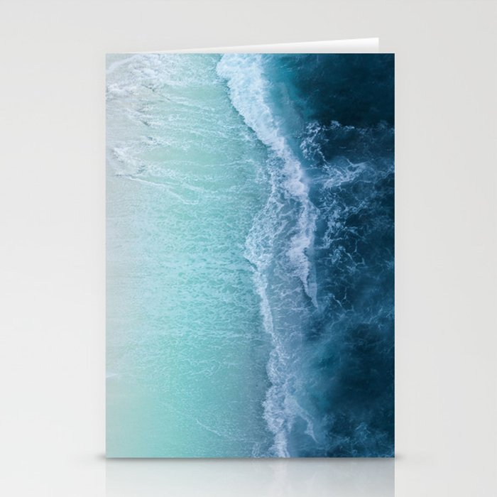 Turquoise Sea Stationery Cards