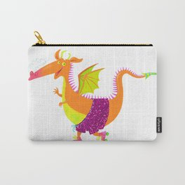 Disco Dragon Carry-All Pouch