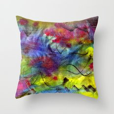 Spring Time Painting  Throw Pillow