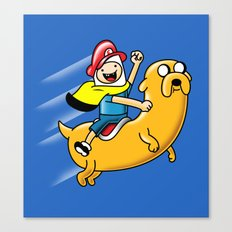 Super Adventure World Canvas Print