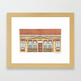 Home #2 Framed Art Print