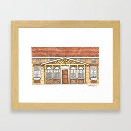 Home #2 Framed Art Print