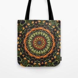 Citrus Infused Mandala Tote Bag