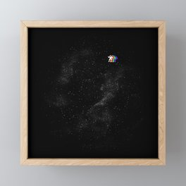Gravity V2 Framed Mini Art Print