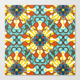 Kaleidoscopic Australia's Animals Canvas Print