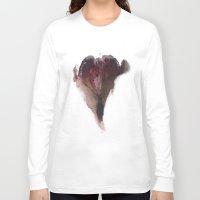 vagina Long Sleeve T-shirts featuring AshleyLane's Vagina Print No.3 by Nipples of Venus