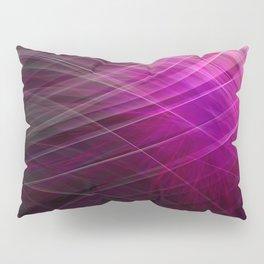 Linear Pattern-Purple Pillow Sham