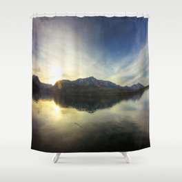 Lake Tahoe, CA.  Shower Curtain