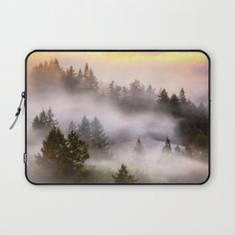 Misty Mount Tamalpais State Park Laptop Sleeve