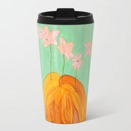 A Faceless Spring Travel Mug