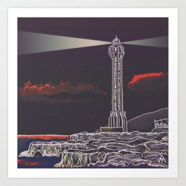 Lighthouse / Punta Lava La Palma Art Print