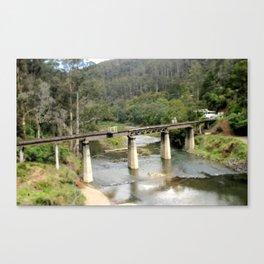Wallhala Rail Bridge Canvas Print