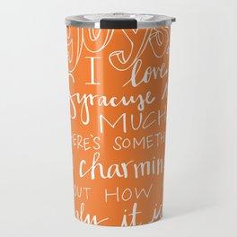 I Love Syracuse Travel Mug