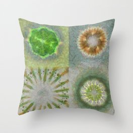Bashing Image Flower  ID:16165-033432-38660 Throw Pillow