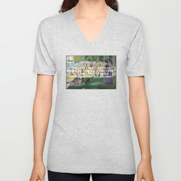 A Sunday Afternoon with Eleanor Rigby Unisex V-Neck