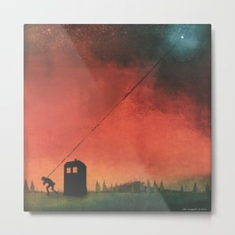 Boy On A String [Constellations] Metal Print