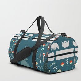 Bear Christmas decoration Duffle Bag
