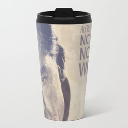 North by Northwest, Alfred Hitchcock, vintage movie poster, Cary Grant, minimalist Travel Mug