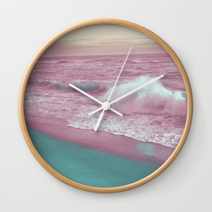 Pop Art Ocean Wall Clock