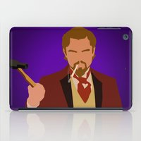 calvin and hobbes iPad Cases featuring Calvin Candie - Django Unchained by Tom Storrer