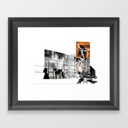 ROUGHCUT#08242015 Framed Art Print