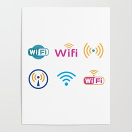 Wifi Logo Poster