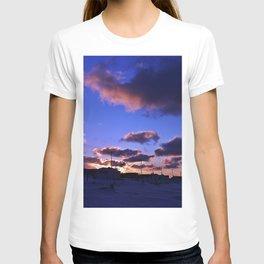 Winter Sunset from the Beach T-shirt