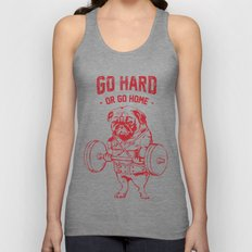 GO HARD OR GO HOME Unisex Tank Top