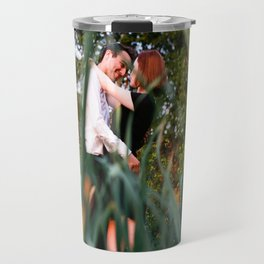 Through the Looking Grass Travel Mug