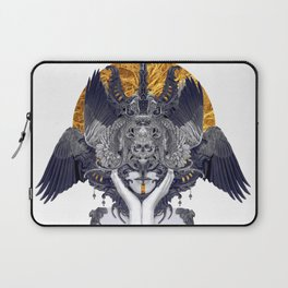 Black Feathers Laptop Sleeve