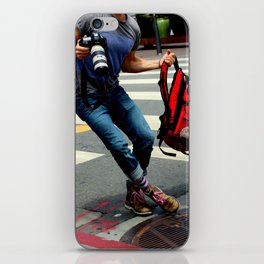A Travelin' Man iPhone Skin