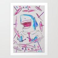 Shark Blakey Art Print