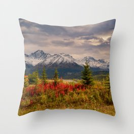 Seasons Turning Throw Pillow