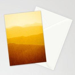 gradient landscape - sunshine edit Stationery Cards