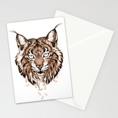 Iberian Lynx: Drifting Stationery Cards