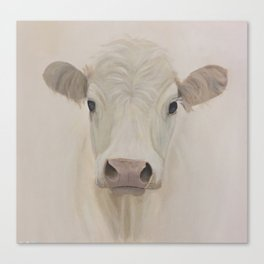Butters the cow Canvas Print