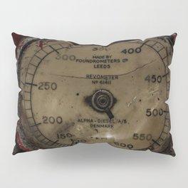 Red Revometer Pillow Sham