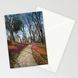 park in Istanbul Stationery Cards