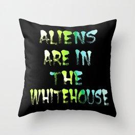 Aliens 1 Throw Pillow