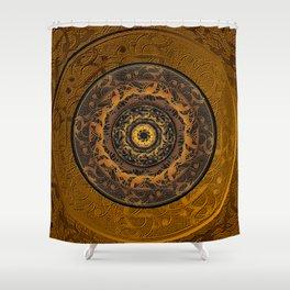Song Of Heaven Mandala Shower Curtain