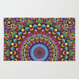 The Psychedelic Days Rug
