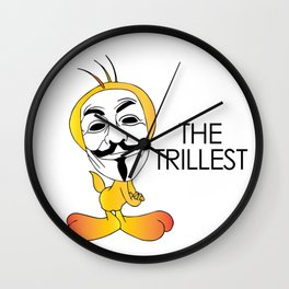 Trill Tweets Wall Clock