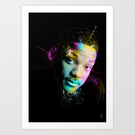 Will Smith Art Print