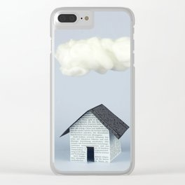 A cloud over the house Clear iPhone Case