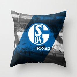 Schalke 04 Throw Pillow